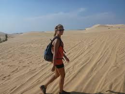 Desert trekking UAE