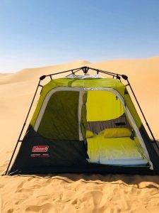 Camping in Liwa