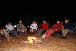 Overnight camp in abu dhabi