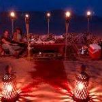 Exclusive Desert Dinner Abu Dhabi