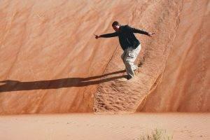 Sand Skiing UAE